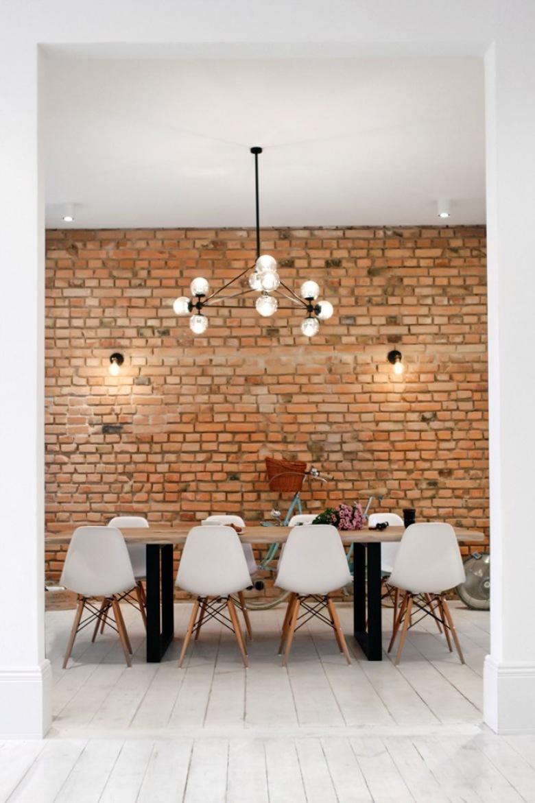 Wyjątkowy apartament w Sopocie, czyli fascynujący kontrast, oryginalny styl i ulubione czerwone cegły w pięknym wydaniu :)