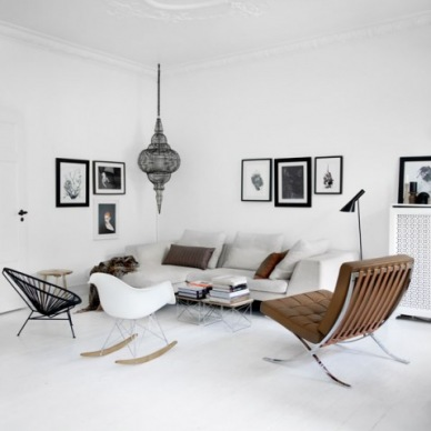 Jaki styl najlepiej prezentuje się w salonie: skandynawski, prowansalski, czy nowoczesny ? -  dylematy podczas zakupów on-line