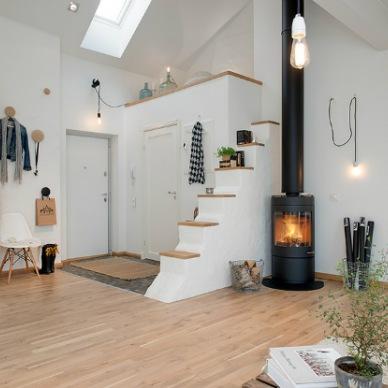 Jak urządzić mieszkanie na poddaszu, czyli loft po skandynawsku w środowych zakupach on-line