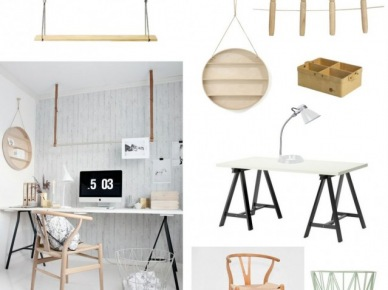 4 pomysły na urządzenie domowego biura w skandynawskim stylu - zakupy online