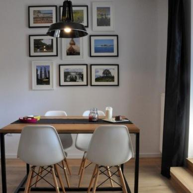 Przyjemna aranżacja polskiego mieszkania o pow. 60 m2 w nowoczesnym stylu z elementami skandi i motywami z podróży!