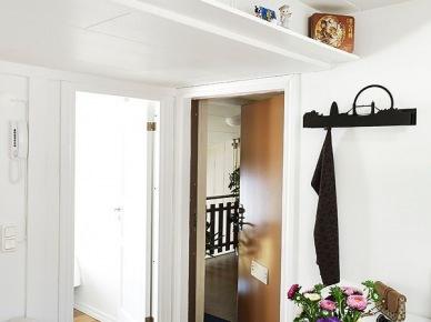 jeśli przymierzacie się do urządzenia małego mieszkania na poddaszu, to koniecznie obejrzyjcie tą skandynawską propozycję - świetna...