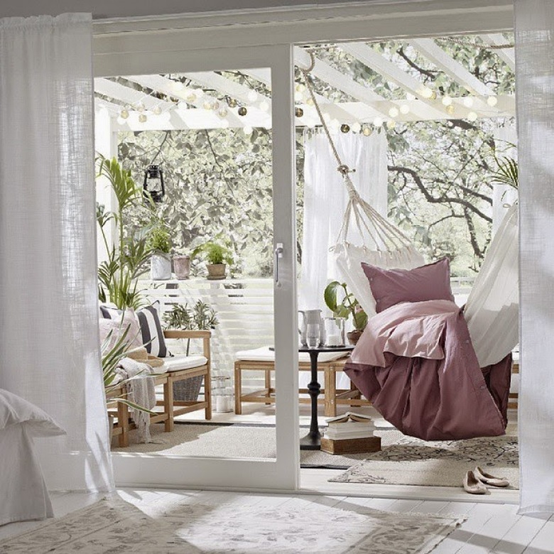 Wnętrza, tarasy i balkony zainspirowane majowym nastrojem - zakupy online (39554)