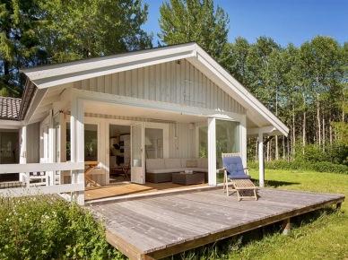 Skandynawski domek z tarasem (14023)