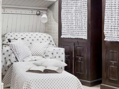 Drewniane stylowe witryny i dekoracje w stylu vintage (21477)