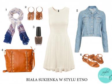 Z czym nosić białą sukienkę? Pomysł na 3 stylizacje - która podoba się Wam najbardziej?:)
