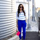 Co założyć do niebieskich spodnii? | Lovingit