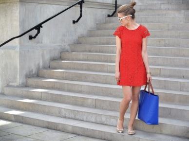 Kasia Tusk w czerwonej sukience (14586)