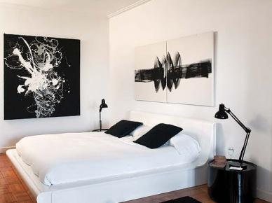 Biało-czarny apartament w barcelonie (9204)