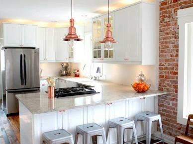 Dekoracyjne lampy w aranżacji kuchni (50365)