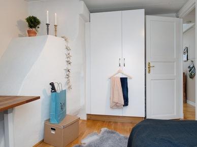 Jak wykorzystać uskoki na ścianach w aranżacji małej sypialni ? (20811)