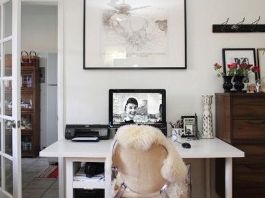 Pokój biurowy w domu projektantki (19020)