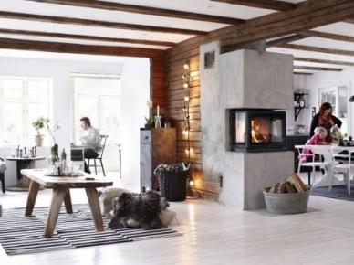 Drewniane belki w aranżacji wnętrz, czyli jak można urządzić dom z belkami z naturalnego drewna w różnych stylach