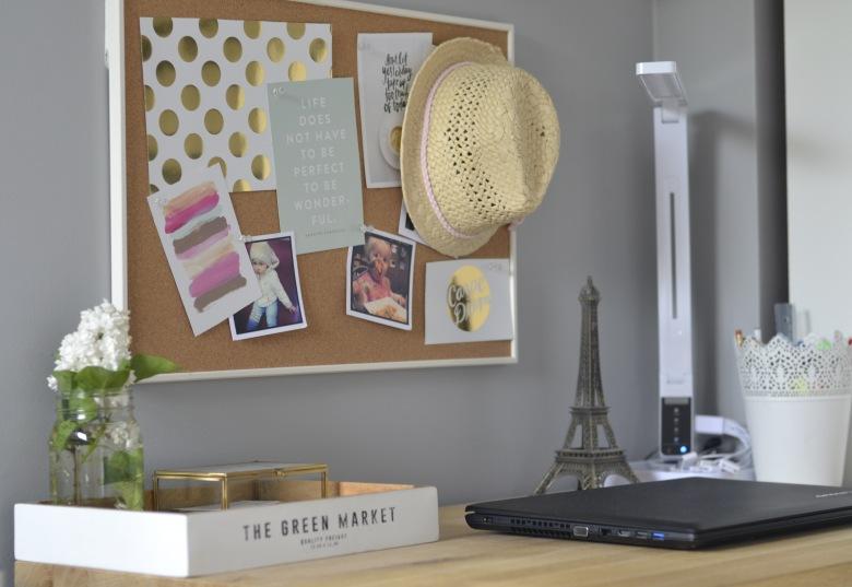 Moje 4 sposoby na ścianę z inspiracjami w miejscu pracy