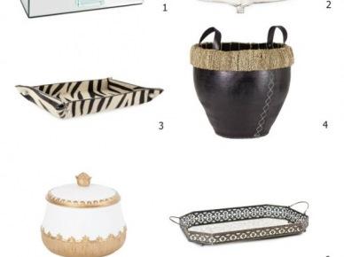 Pomysły na stylowe przechowywanie w domu, czyli tace, pudła i kosze - ZARA HOME 2013