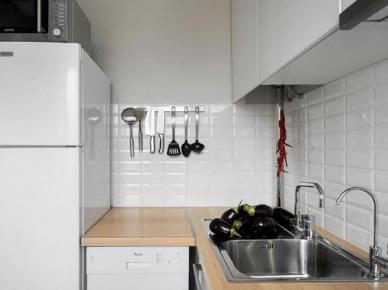 Gdzie postawić lodówkę w małej kuchni ? (19616)