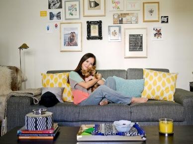 Kolorowe mieszkanie - zdjęcia, czyli wtorkowy tour po pięknych wnętrzach!