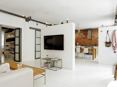 Jak urządzić małe mieszkanie, czyli wtorkowy tour po pięknych wnętrzach