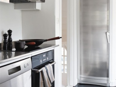 Nowoczesna biała kuchnia (3214)