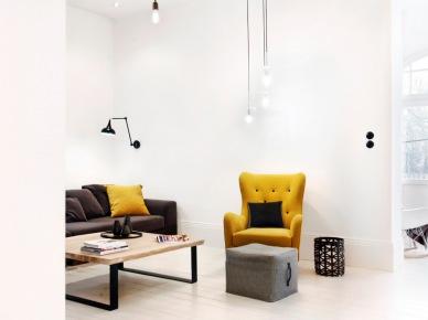 Żółte meble i dodatki do salonu (49039)