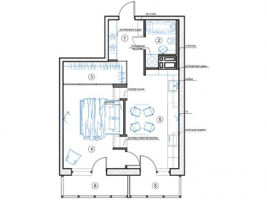 Plan apartamentu (20852)