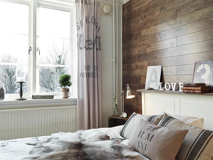 Francuskie drukowane zas ony i poduszki w sypialni - Ideas para dormitorios ...