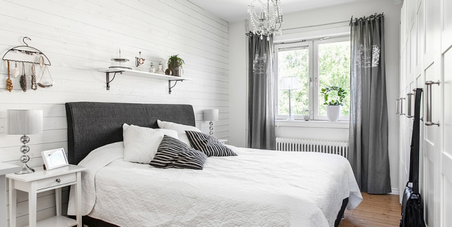 Romantyczna sypialnia