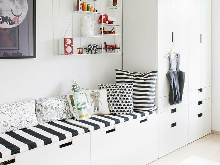 bia e meble z ikea i bia o czarne poduszki zdj cie w serwisie 26766. Black Bedroom Furniture Sets. Home Design Ideas