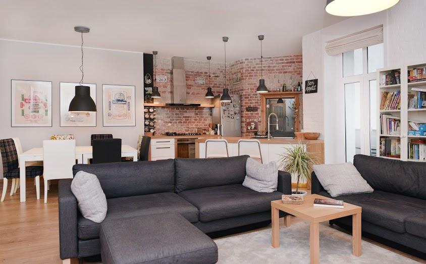 Inspirujące polskie mieszkanie w kamienicy w wydaniu before & after, a w dodatku... na sprzedaż! :)