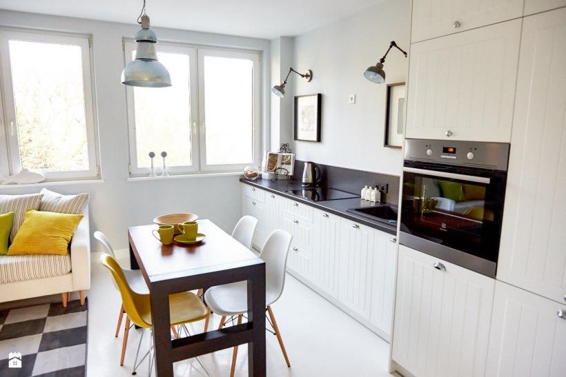 Kuchnia połączona z pokojem dziennym  zdjęcie w serwisie Lovingit pl (49725)