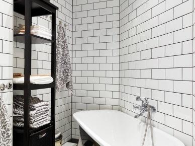 Tag Biała Glazura Cegiełka Na ścianie W łazience