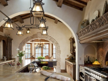 Mediterranean Kitchen Photos Design, Pictures, Remodel, Decor and Ideas (298)