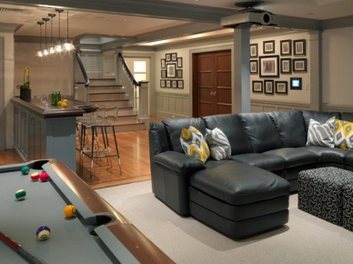 Basement Design, Pictures, Remodel, Decor and Ideas (108)