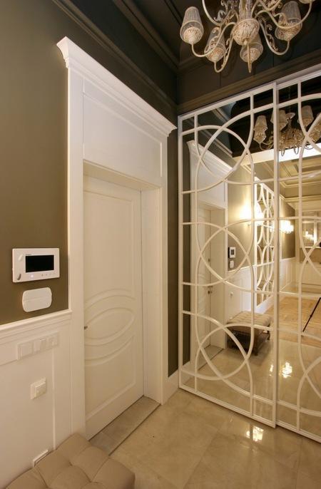 Białe Panele I Dekoracyjne Listwy Z Mdf Zdjęcie W