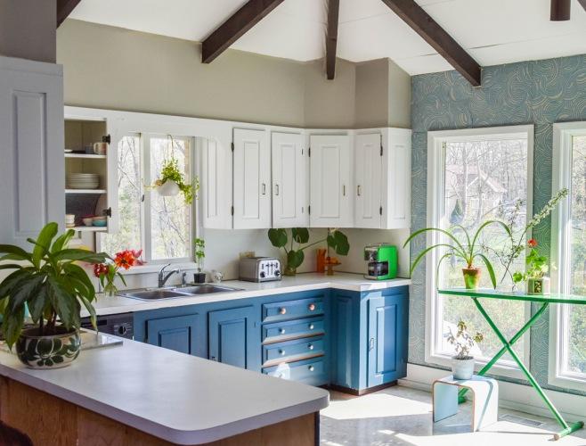 Before & after kuchni, czyli jak z klasycznego brązu przejść na kolorową, ale elegancką aranżację :)