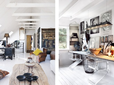 Vintage and Ethnic house by designer and interior Marie Olsson (5391)