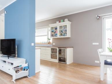 Otwarta Przestrzeń Z Kuchnią Jadalnią I Salonem Zdjęcie W