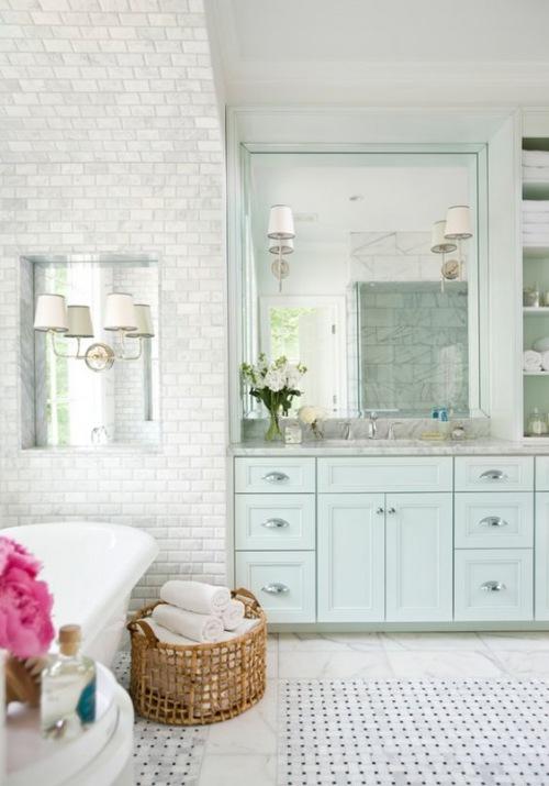 8 inspirujących pomysłów na łazienkę w stylu glamour