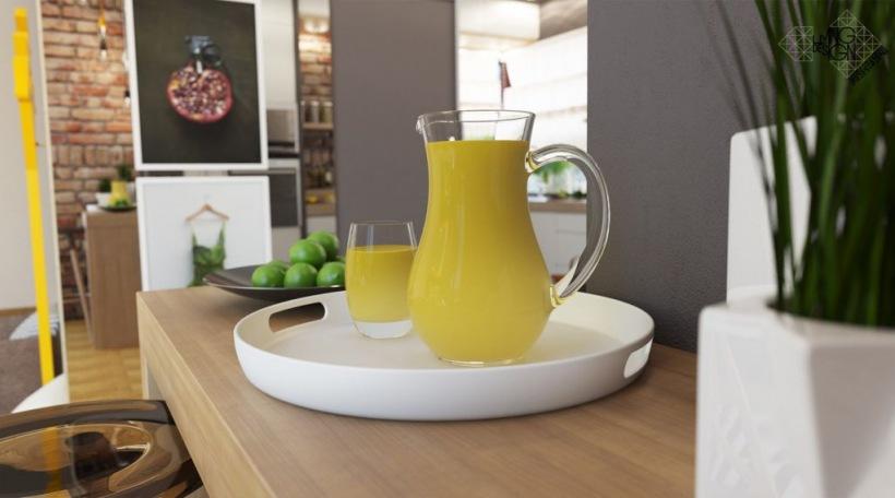 żółte Dodatki Do Kuchni Zdjęcie W Serwisie Lovingitpl 44077