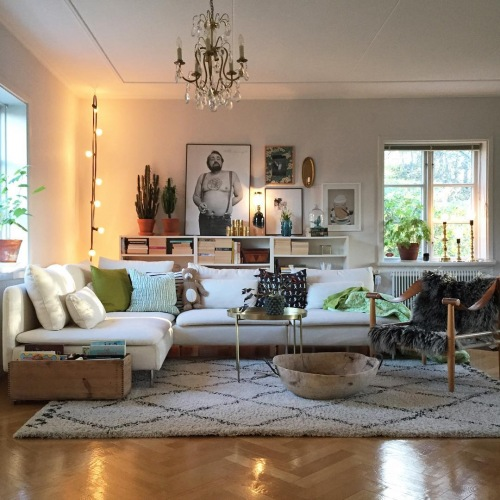 Mieszkanie z bardzo oryginalną sypialnią, czyli wnętrza tygodnia z instagramu
