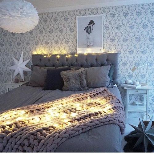 Najciekawsze wnętrza z instagramu, czyli świąteczna aranżacja sypialni, salonu i pokoju dziecięcego :)