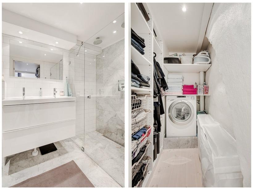 Biała łazienka Z Garderobą Marzenie Wszystkich Zdjęcie
