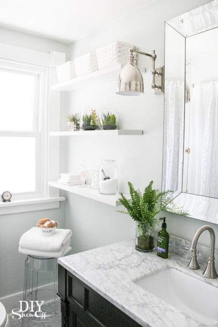 Otwarte Półki W łazience Zdjęcie W Serwisie Lovingitpl