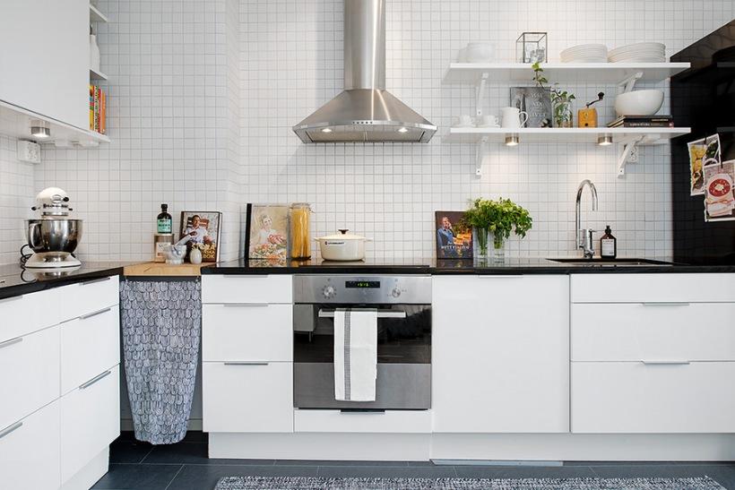 Białe Kafelki W Kuchni Zdjęcie W Serwisie Lovingitpl 35293