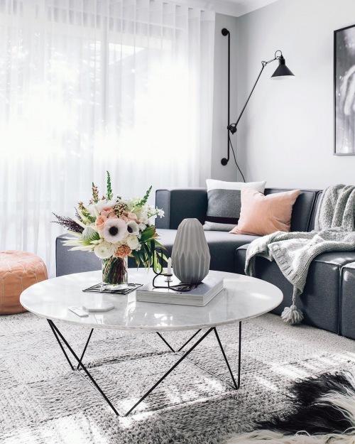 Wnętrza tygodnia z instagramu, czyli inspirujący salon, sypialnia oraz pokój dziecięcy w skandynawskim stylu