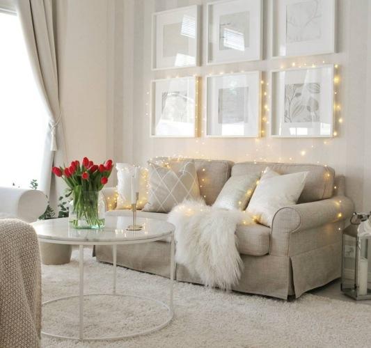 Romantyczna aranżacja domu w bieli i pastelach dla odmiany