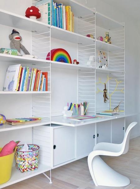 Krzesło Dziecięce Pantonbiałe Regały System Zdjęcie W