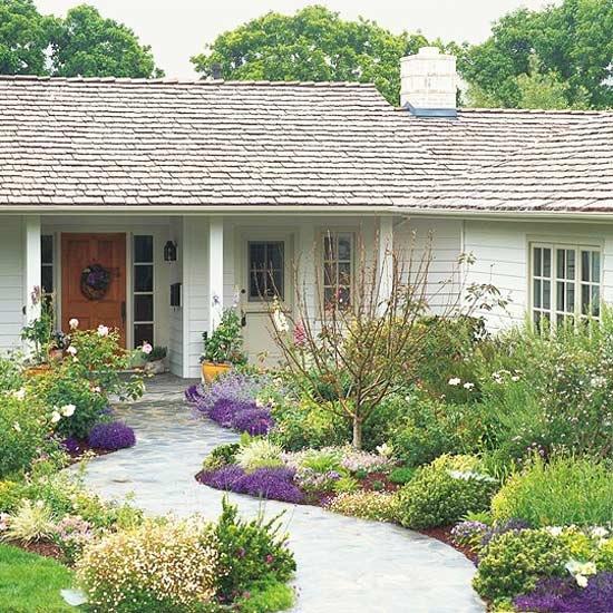 Ogród Kwiatowy Przed Domem Zdjęcie W Serwisie Lovingitpl 15219