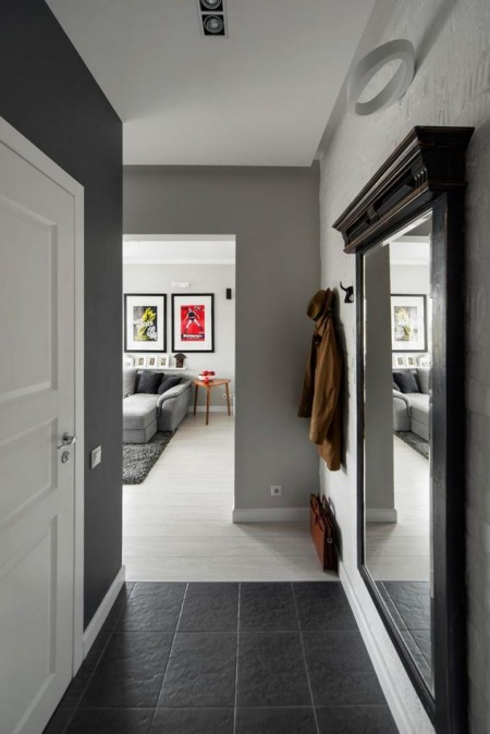 Pomysł Na Wąski I Mały Korytarz W Mieszkaniu Zdjęcie W