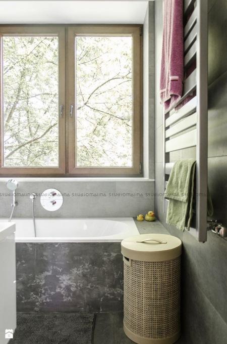 Szara łazienka Inspiracje Zdjęcie W Serwisie Lovingitpl